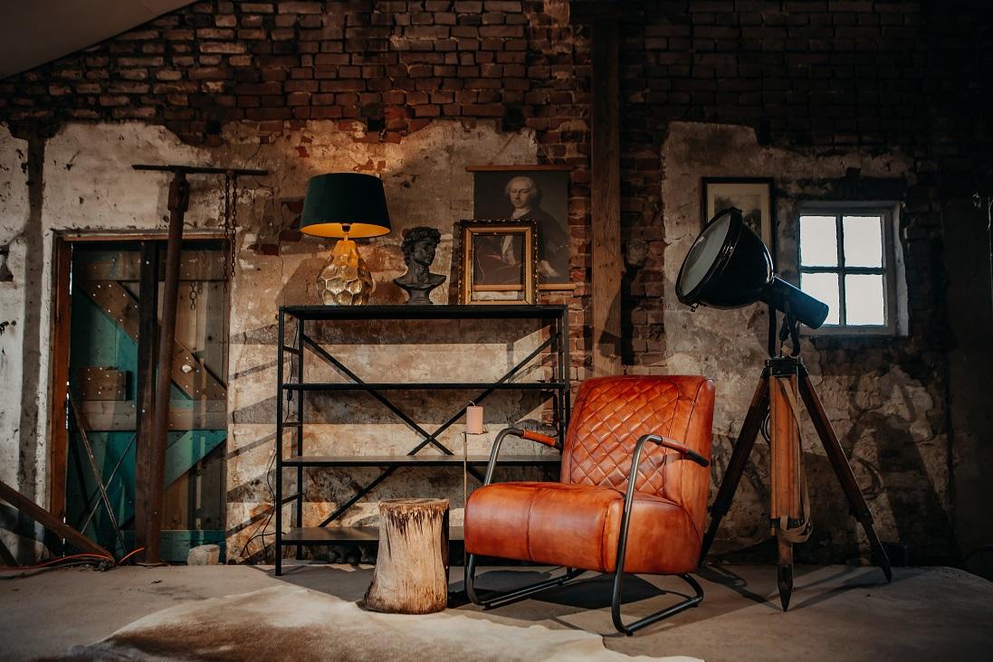 Buffelleren fauteuil