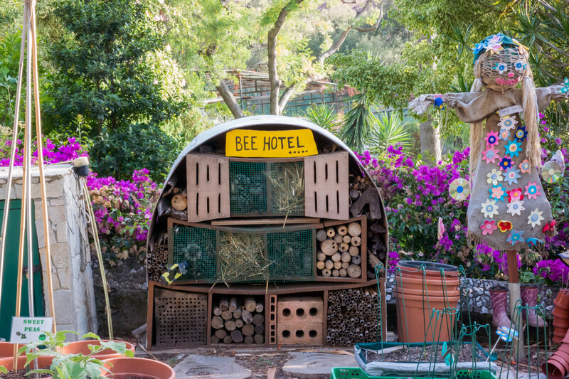 maak een insectenhotel